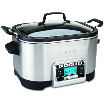 Crock-pot - Slowcooker 5,6 l - multifunktionell
