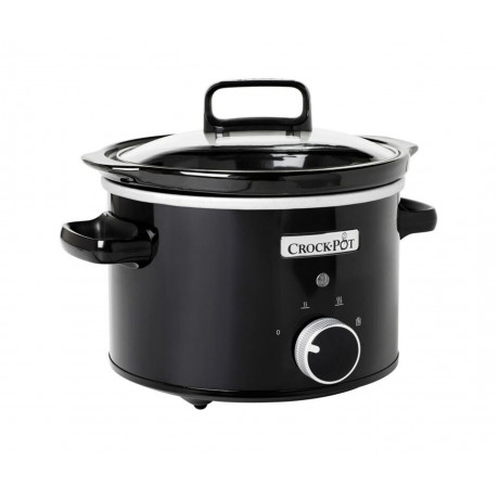 Crock-pot - Slowcooker 2,4 l - svart