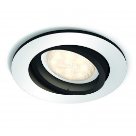 Philips Hue - MILLISKIN recessed aluminium 1x5.5W 230V (without remote)
