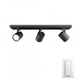 Philips Hue - Runner HUE bar/tube black 3x5.5W 230V