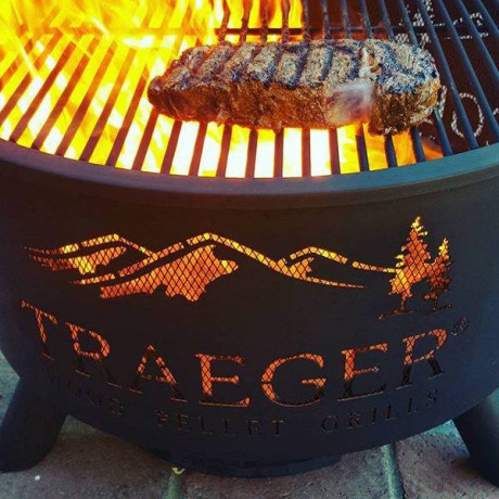Traeger - Outdoor fire pit